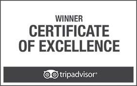 Certificado de Excelencia Trivadvisor