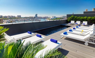 Mare Nostrum Terrace with Port Vell views
