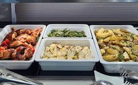 Montaje almuerzo empresas