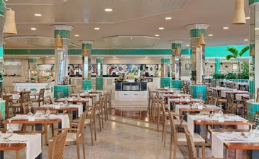 Restaurant Buffet Jandía avec cuisine