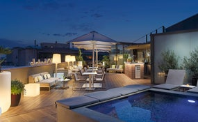 Sky Bar Terrace and Plunge pool