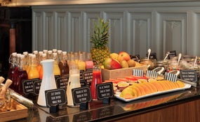 Buffet breakfast at the El Til·ler Restaurant