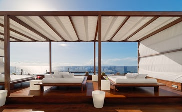 Sunset Chill-Out bar with sea views
