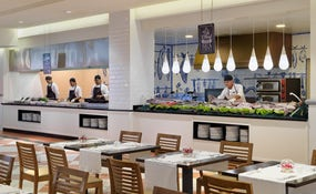 Betancuria Buffet Restaurant with show cooking