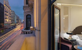 Views of Gran Via from the Classic Gran Vía Room