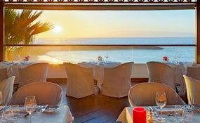 Brasería a la carta El Mirador: espectacular terraza frente al mar