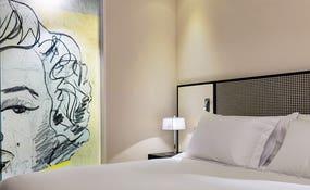 Detalle cabecero Habitación (Andy Warhol)