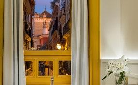 Habitación Romántica Vista Sevilla