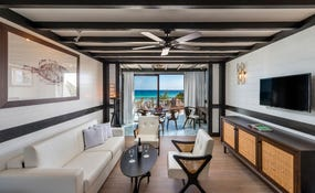 Eden Master Suite, vista al mar