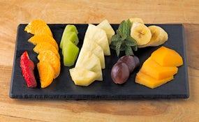 Ensala de fruta de temporada