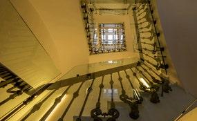 Escaliers de l'hôtel