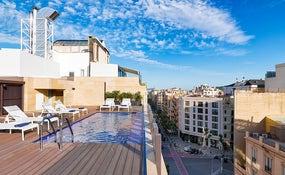 Terrasse Inspire mit plunge pool