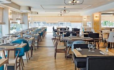 Restaurante buffet Blancafort con cocina en vivo