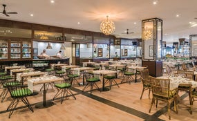 Restaurant buffet Janubio