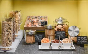 Novecento Restaurant Breakfast buffet. Dietary corner