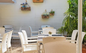Terraza del Bar Restaurante La Masia