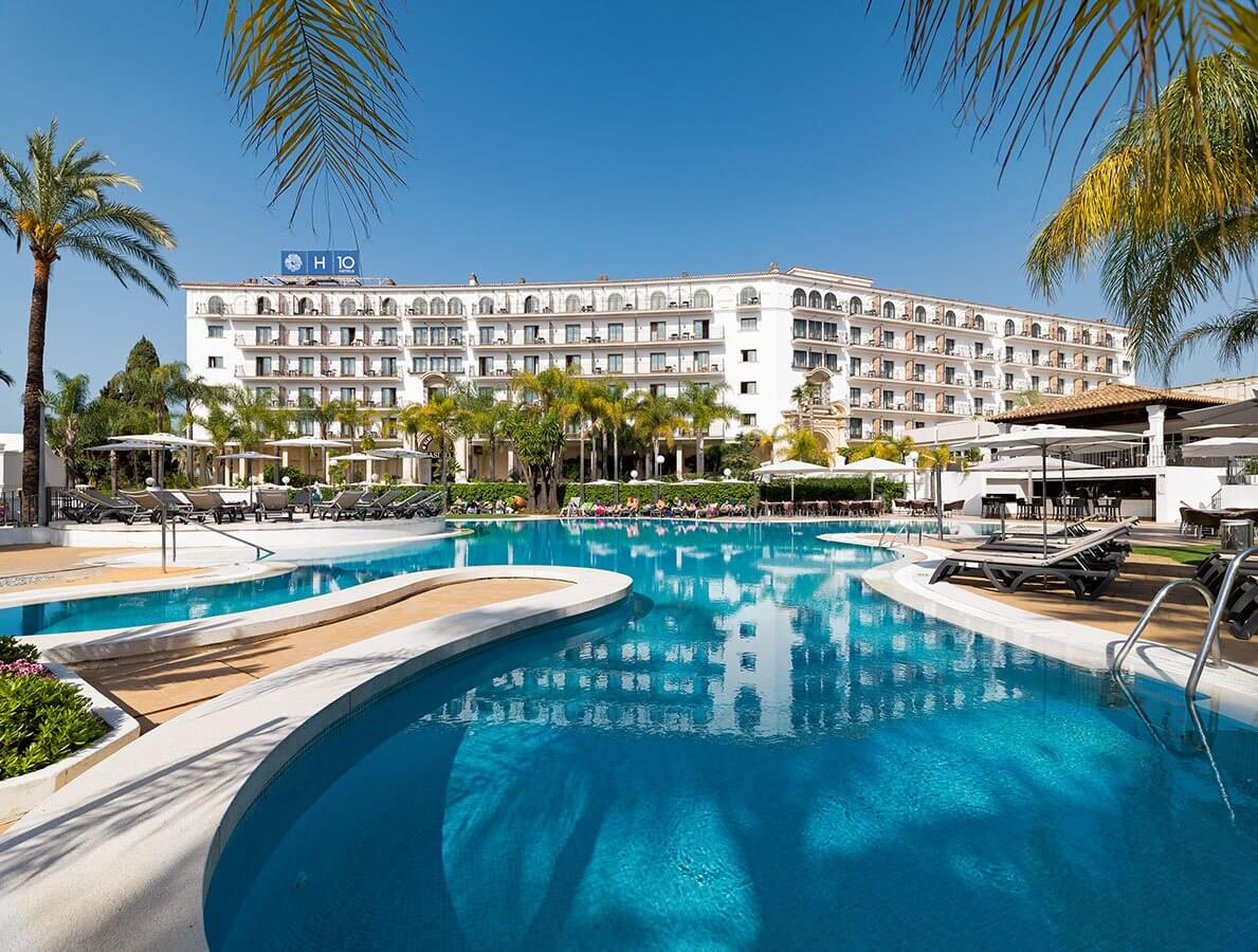 H10 andaluc a plaza hotel in m laga puerto ban s for Plaza hotel