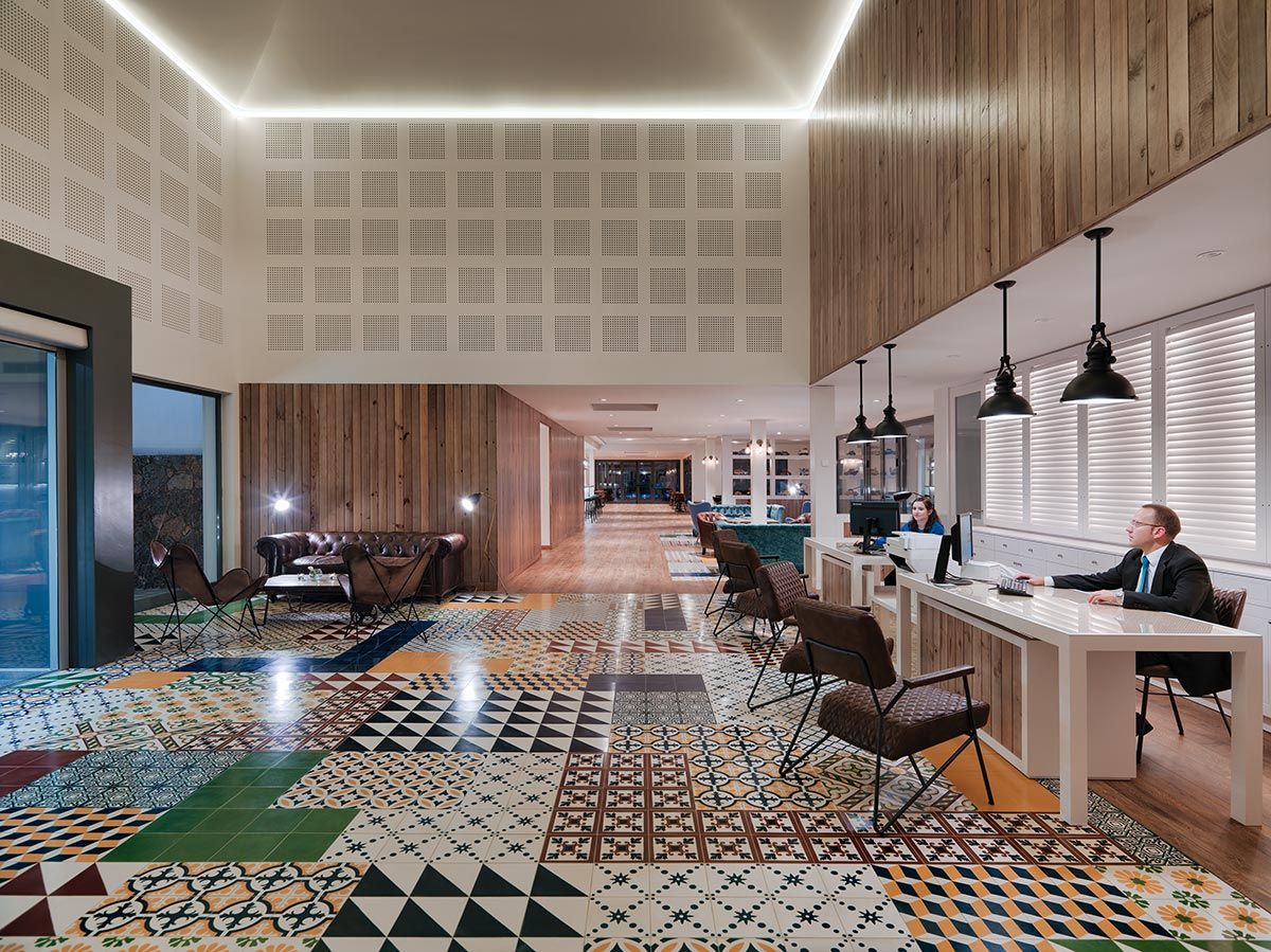 Hotel riu palace tres islas wellnesshotel strand van corralejo - Hotel S Lobby And Reception