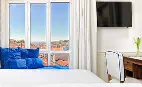 Panoramic views from Double Room Lisboa Views