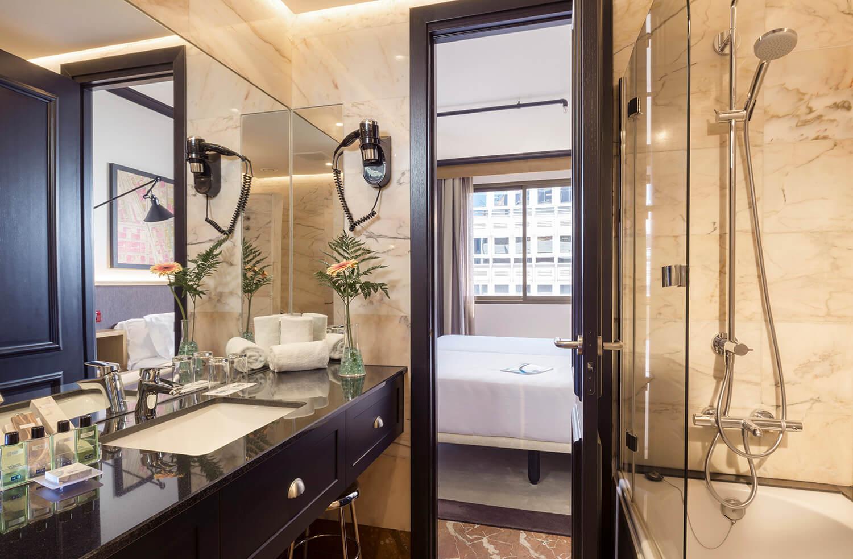 h10 tribeca hotel paseo de la castellana madrid h10 hotels. Black Bedroom Furniture Sets. Home Design Ideas