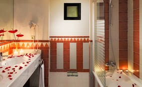 Bagno della Junior Suite Honeymoon