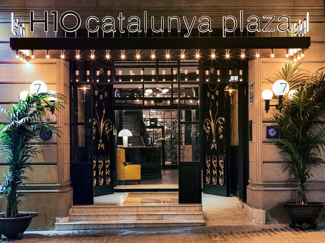H10 catalunya plaza boutique hotel hotel barcelona h10 for Boutique hotel barcelone