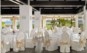 Banquet assembly of the Thalassa Restaurant.