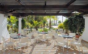 Terrassa del Restaurant Alborán