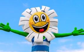 Daisy mascot