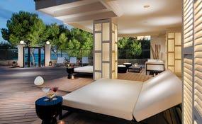 Hotel porch