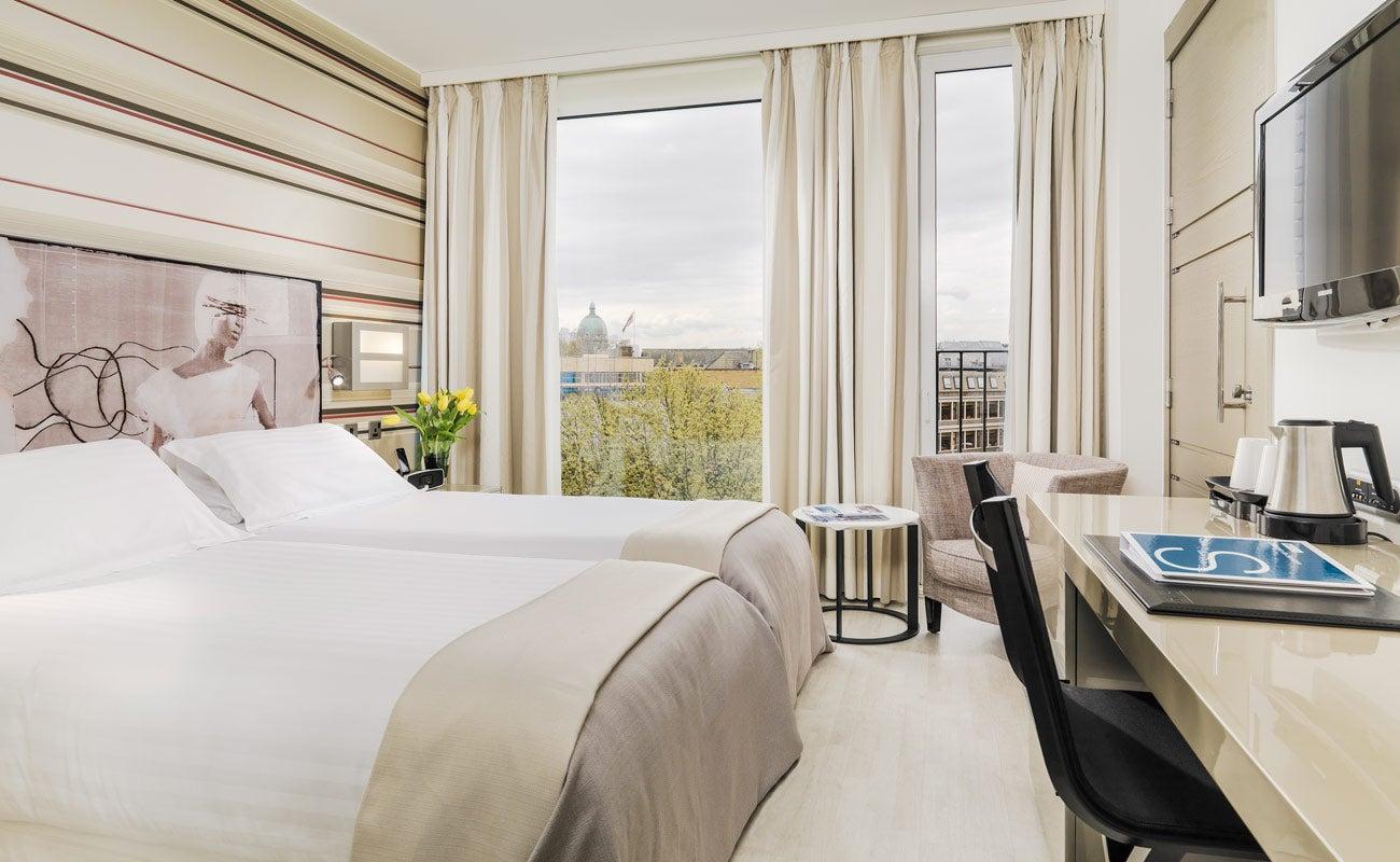 H10 london waterloo hotel en waterloo road londres for Hotel habitacion familiar londres