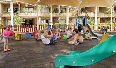 Parque infantil del Miniclub Daisy
