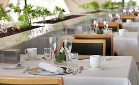 Colazione privilege nel ristorante Gaudí