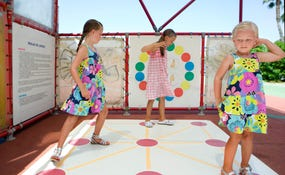 Outdoor games at the Daisy Miniclub