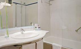 Badezimmer des Doppelzimmer