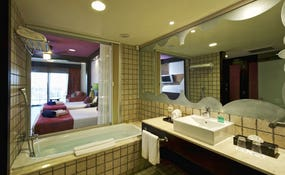 Junior Suite Deluxe bathroom