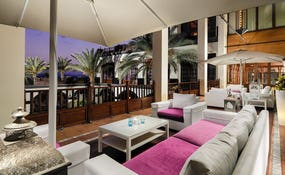 Chill-Out Terrace at the evening