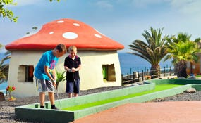 Juniorclub, minigolf