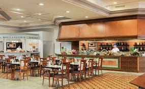 Vista general del Restaurante buffet Janubio