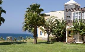 Exterior view of a villa