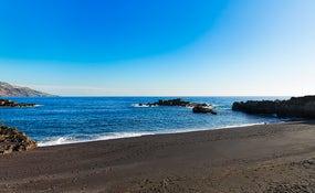 Playa de Los Cancajos junto al hotel