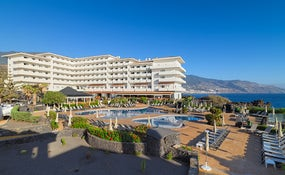 Panoramic view of the hotel