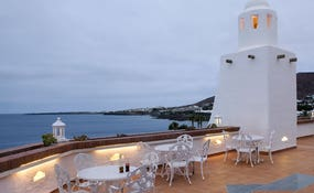 Terrazza chill-out con vista sul mare