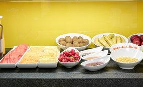 Buffet petit déjeuner au Restaurant Novecento