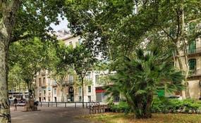 Vue de l'hôtel de la Plaça Urquinaona