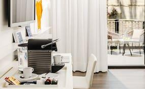 Detalle cafetera Nesspresso Habitación Doble Superior