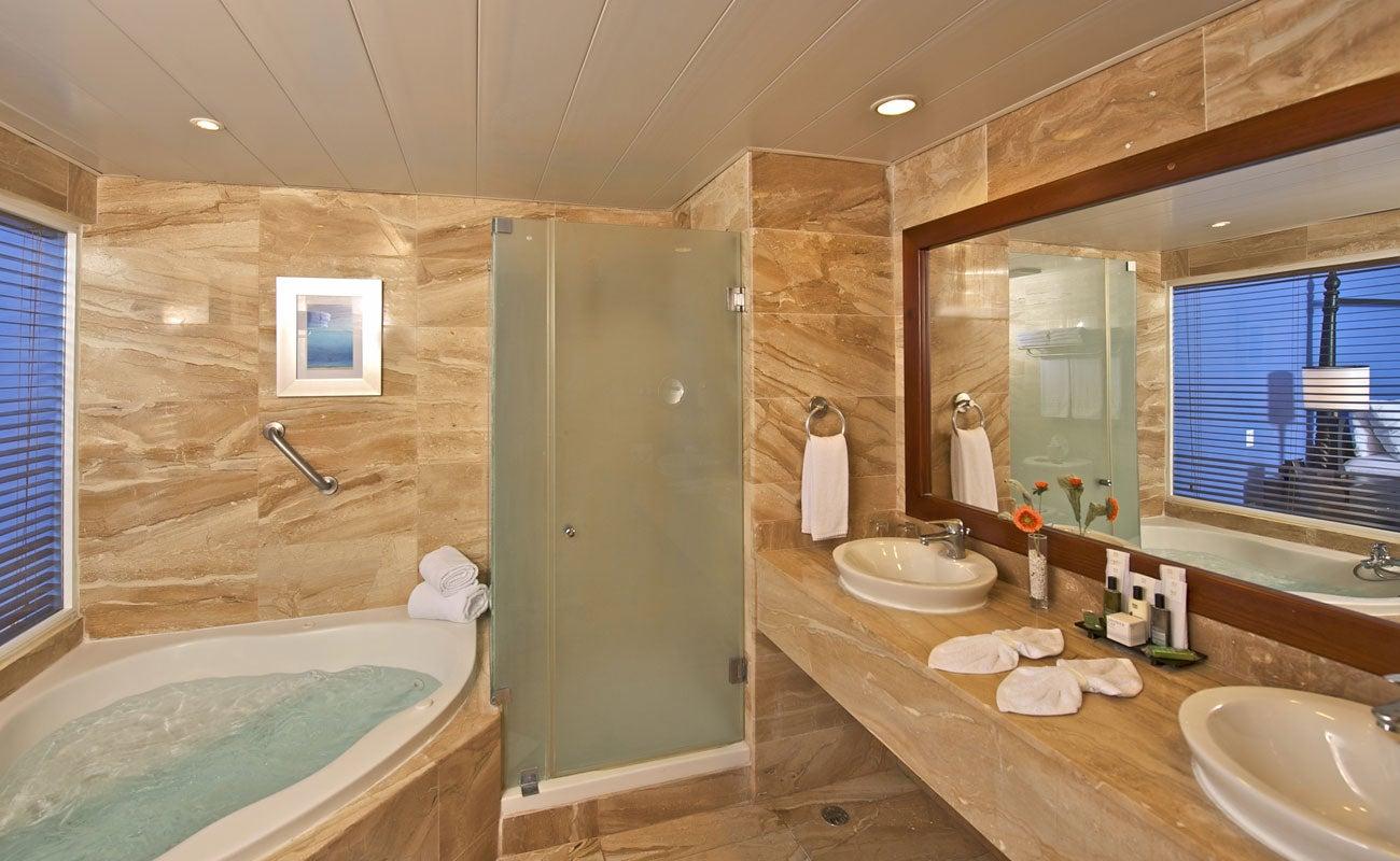 Blue ocean bathrooms
