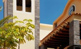 Detalle arquitectura del hotel