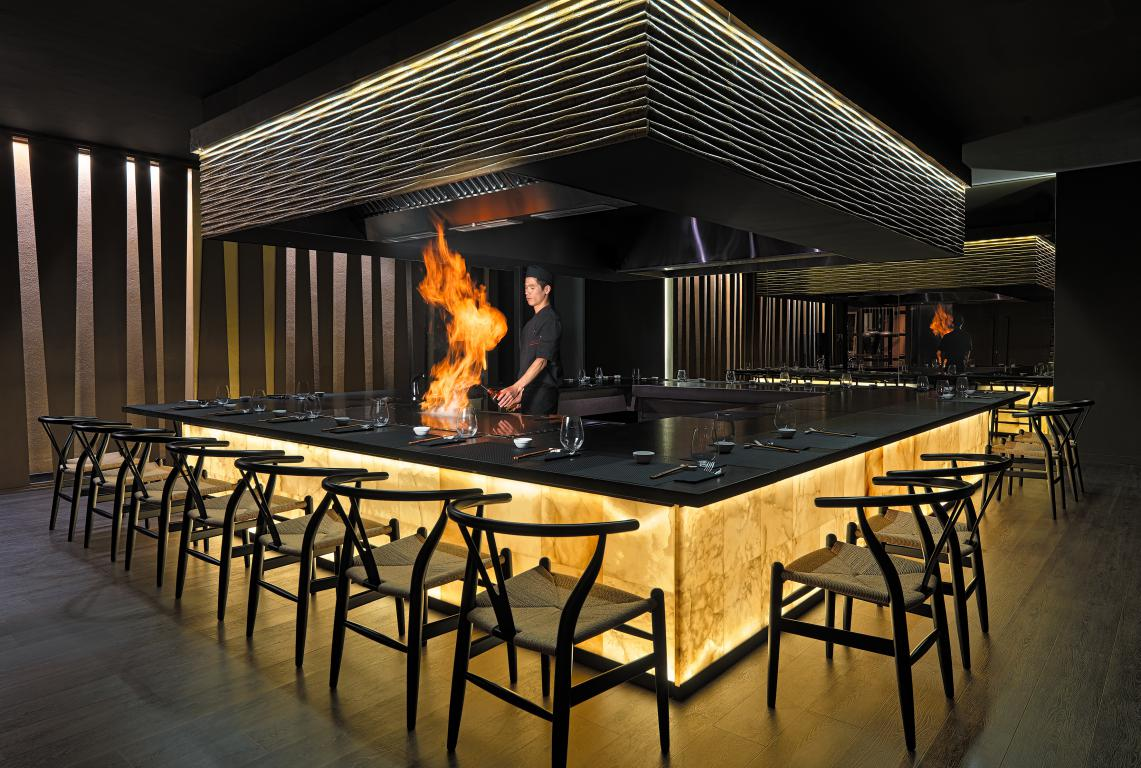 Image gallery teppanyaki restaurant - Restaurante tokio madrid ...